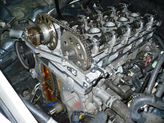 Chevy Colorado cylinder head replacemnt Repair